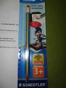 Produkttest Noris Stylus Schreiblernstift 02